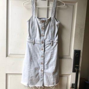 7 For All Mankind Denim mini dress jumper
